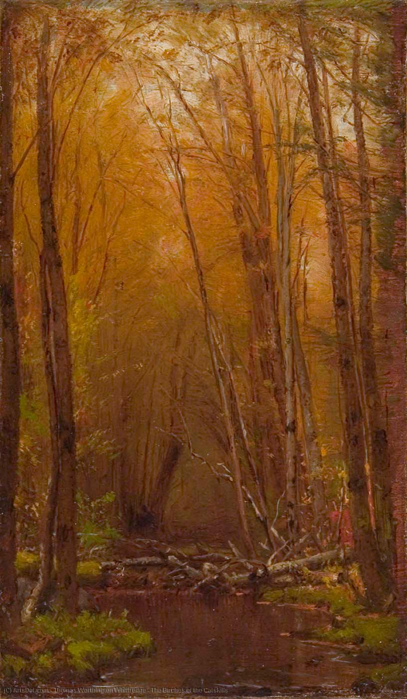 Buy Museum Art Reproductions : The Birches of the Catskills, 1875 by Thomas Worthington Whittredge (1820-1910, United States) | ArtsDot.com