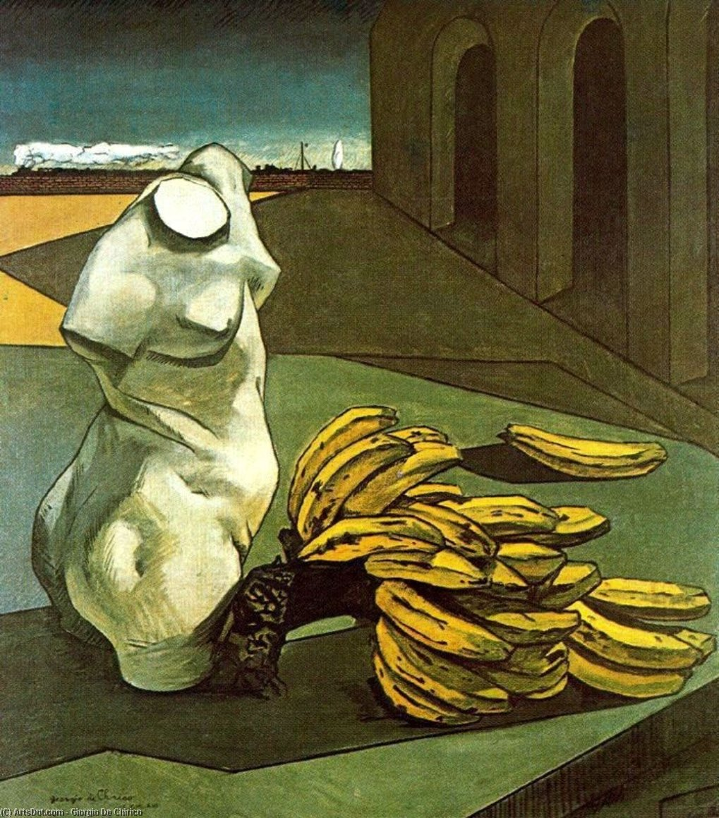 The Uncertainty of the Poet, 1913 by Giorgio De Chirico (1888-1978, Greece) | Art Reproduction | ArtsDot.com