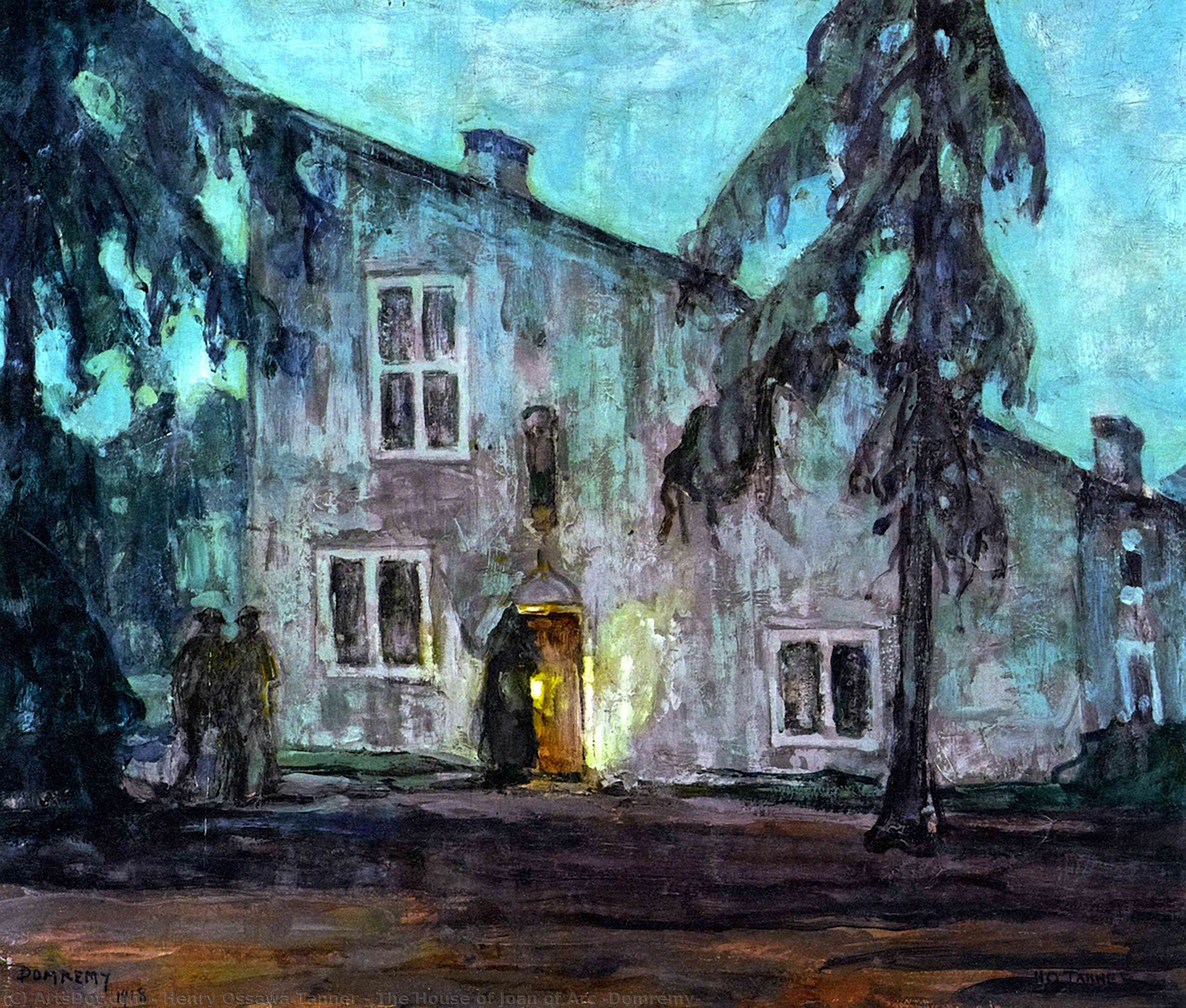 The House of Joan of Arc (Domrémy), 1918 by Henry Ossawa Tanner (1859-1937, United States) | Painting Copy | ArtsDot.com
