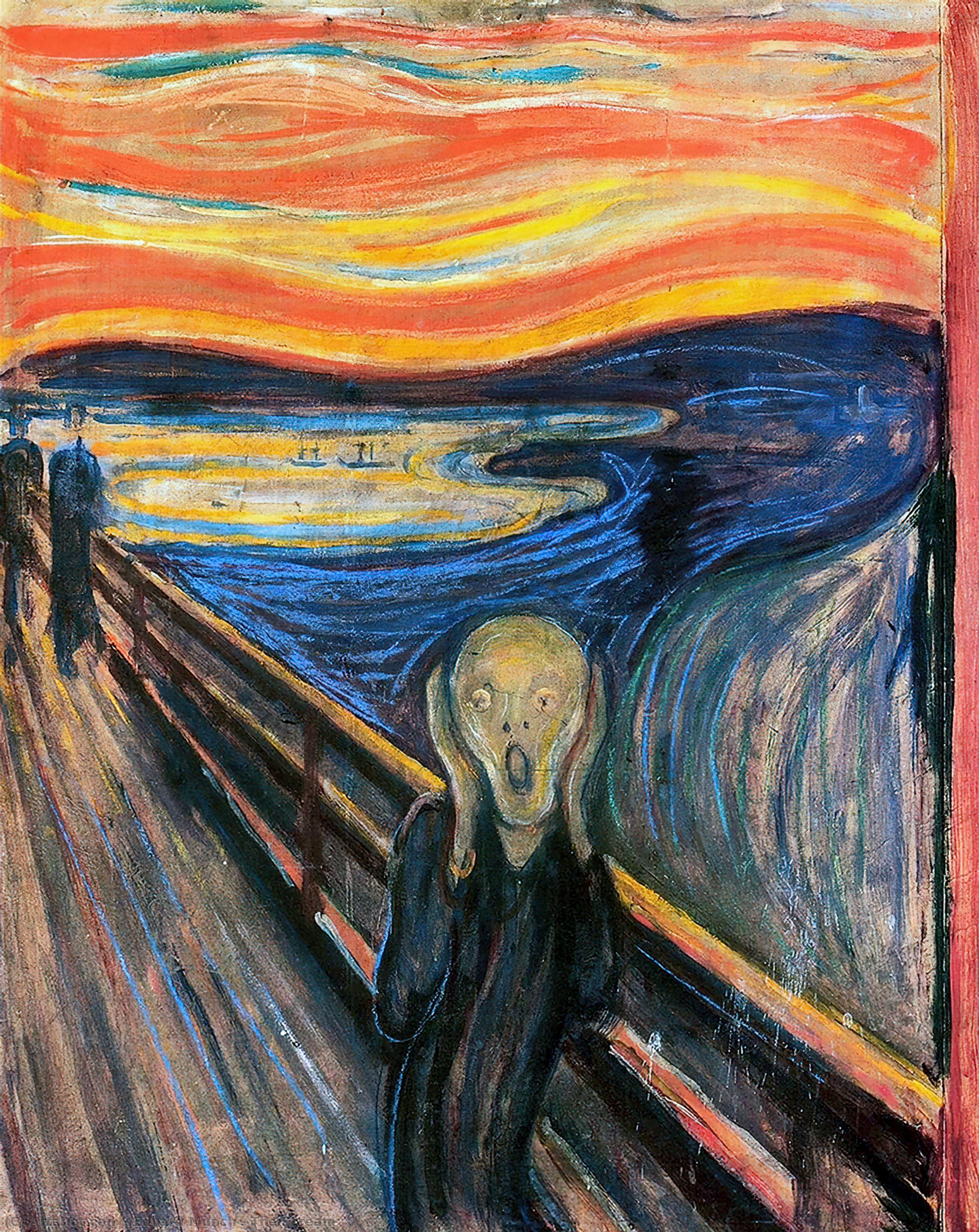The Scream, 1893 by Edvard Munch (1863-1944, Sweden) | Art Reproduction | ArtsDot.com