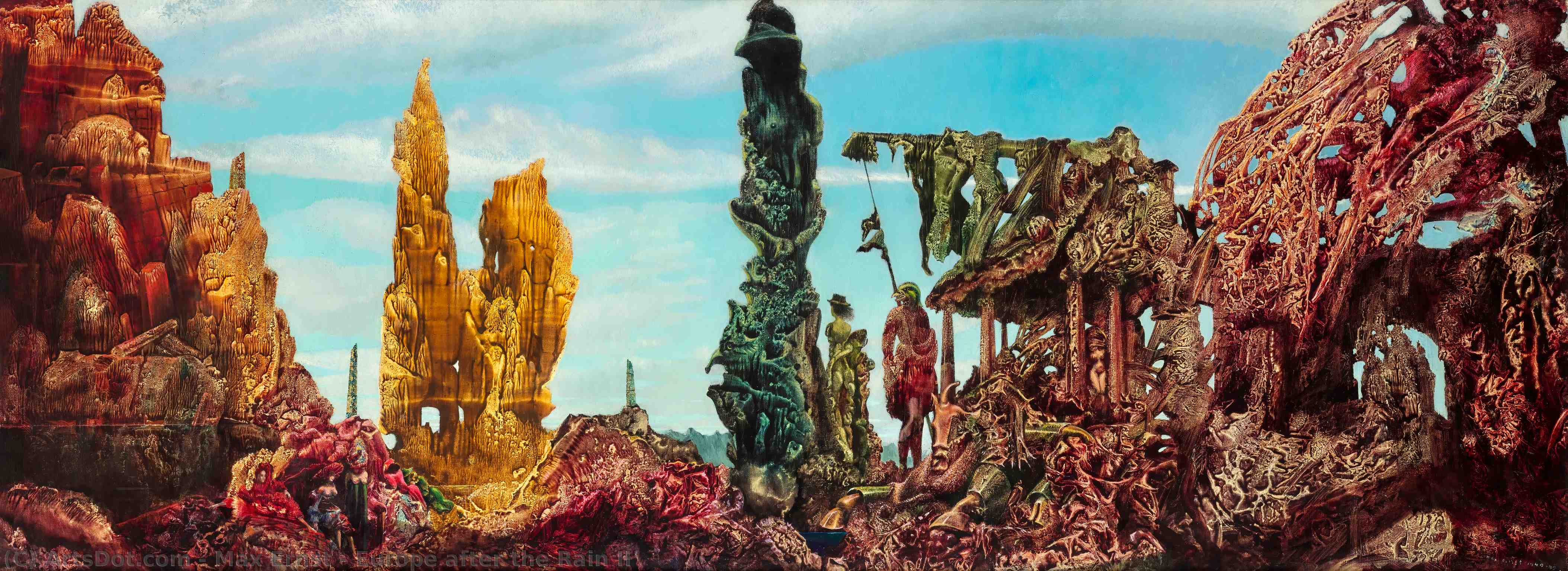 Europe after the Rain II, 1942 by Max Ernst (1891-1976, Germany) |  | ArtsDot.com
