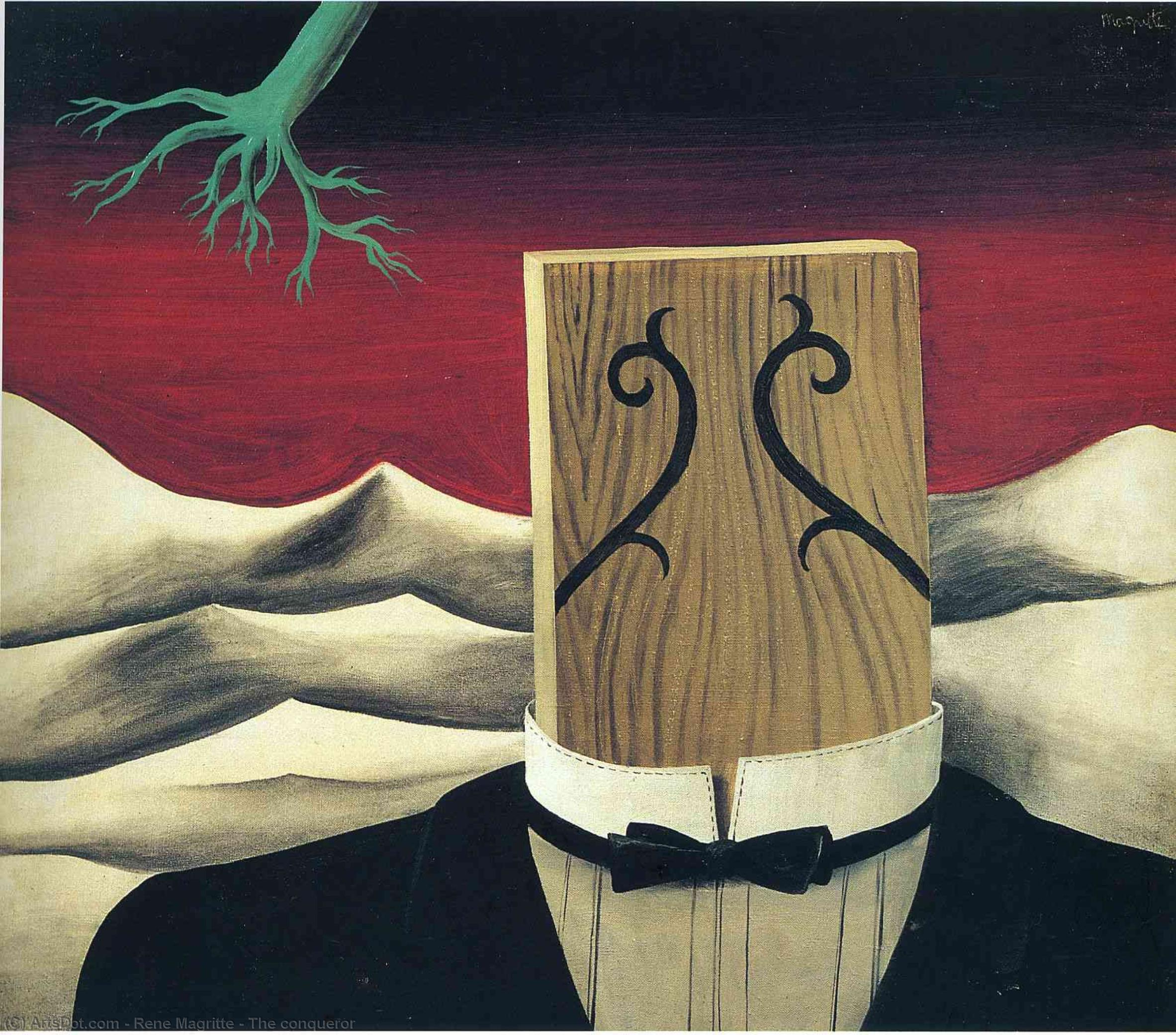 The conqueror, 1926 by Rene Magritte (1898-1967, Belgium) | Museum Quality Reproductions | ArtsDot.com