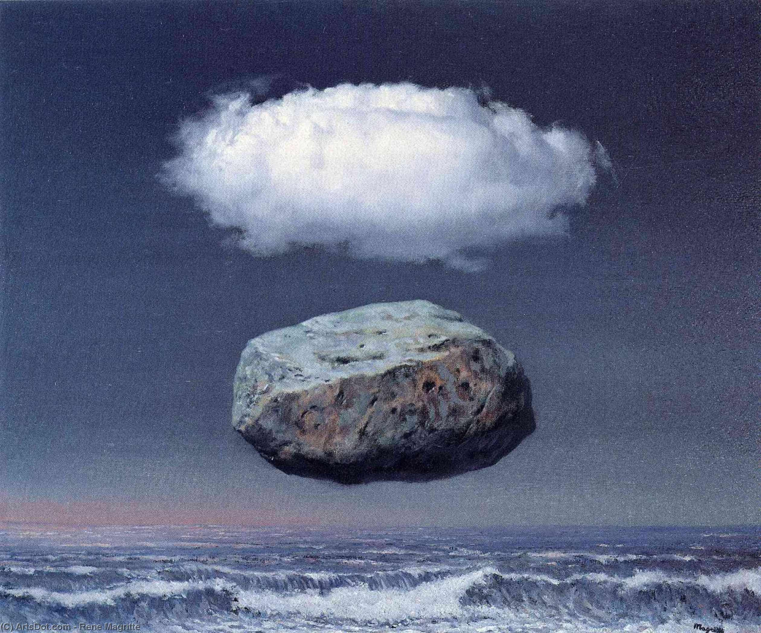 Clear ideas, 1958 by Rene Magritte (1898-1967, Belgium)