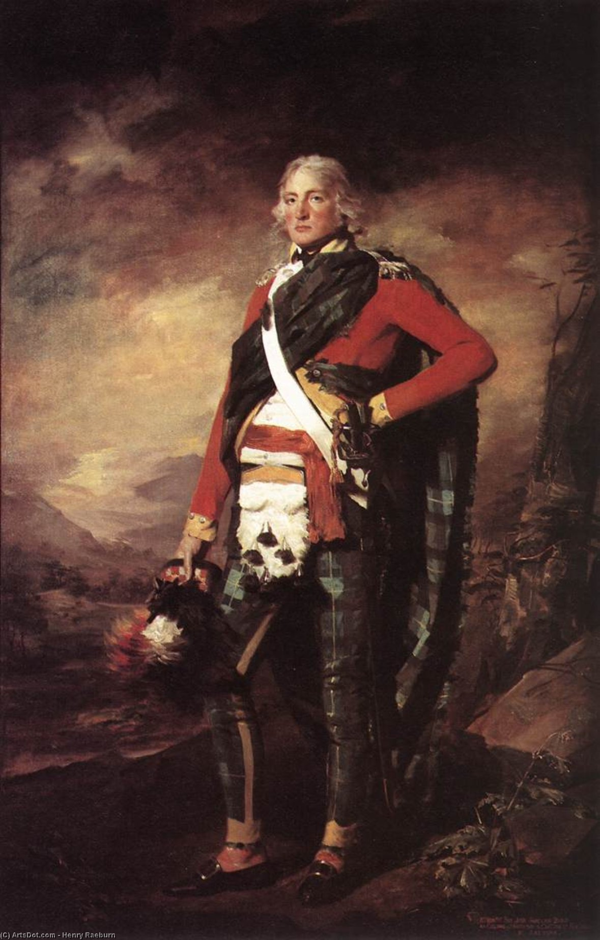 Portrait of Sir John Sinclair, 1794 by Henry Raeburn (1756-1823, United Kingdom) | Museum Art Reproductions | ArtsDot.com