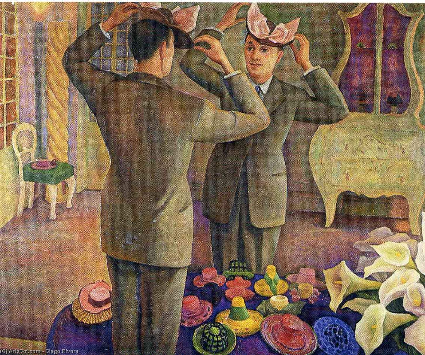 untitled (2721) by Diego Rivera (1886-1957, Mexico)