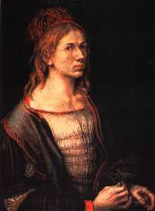 Albrecht Durer - Self-portrait at 22