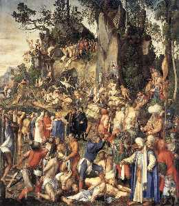 Albrecht Durer - The Martyrdom of the Ten Thousand