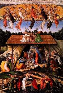 Sandro Botticelli - Mystic Nativity