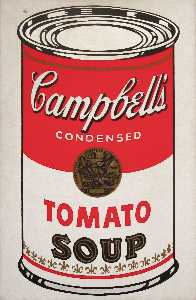 Andy Warhol - Campbell-S Soup Can (tomato)