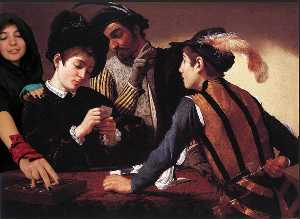Caravaggio (Michelangelo .. - The Cardsharps