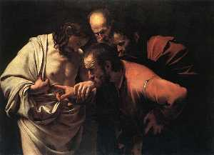 Caravaggio (Michelangelo .. - The Incredulity Of Saint ..