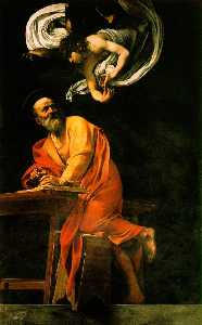 Caravaggio (Michelangelo .. - The Inspiration Of Saint ..