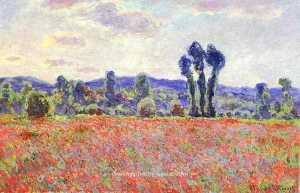 Claude Monet - The Fields of Poppies