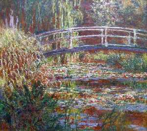 Claude Monet - The Water Lily Pond, Pink Harmony