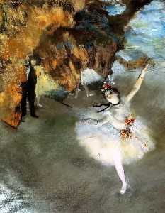 Edgar Degas - The Star