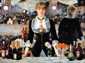 Edouard Manet - A Bar at the Folies-Berge..