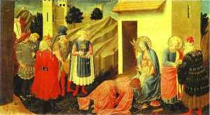 Fra Angelico - Annunciation. Adoration of the Magi