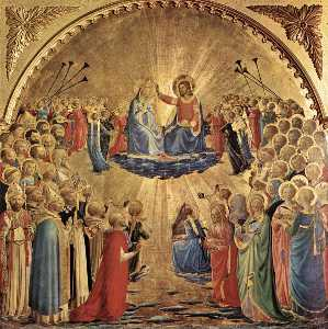Fra Angelico - The Coronation of the Vir..