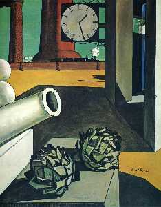 Giorgio De Chirico - The Conquest of the Philo..