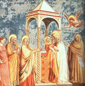 Giotto Di Bondone - Scrovegni - [19] - Presentation at the Temple