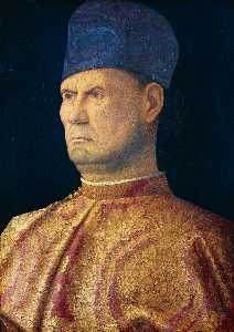 Giovanni Bellini - Portrait of a Condottiere (Giovanni Emo)