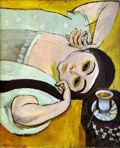 Henri Matisse - Laurette-s Head with a Coffee Cup