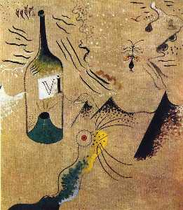 Joan Miro - Bottle of Vine