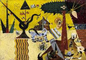 Joan Miro - The Tilled Field