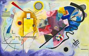 Wassily Kandinsky - Yellow, Red, Blue