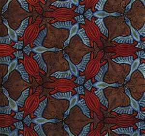 Maurits Cornelis Escher - Symmetry Drawing 69