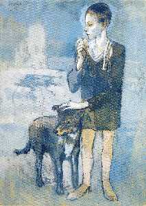 Pablo Picasso - Boy with a Dog