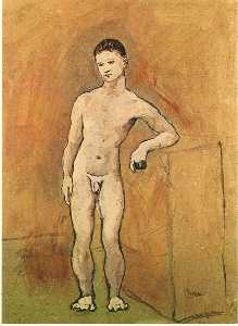 Pablo Picasso - Nude Youth