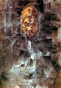 Pablo Picasso - Portrait of Ambroise Vollard