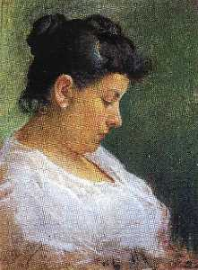 Pablo Picasso - Portrait of the Artist-s Mother