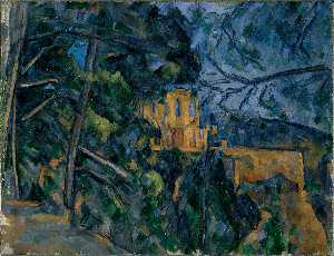 Paul Cezanne - Chateau Noir (Washington)