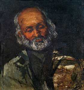 Paul Cezanne - Head of an Old Man