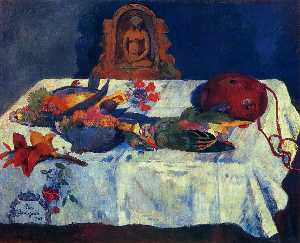 Paul Gauguin - Still Life with Parrots
