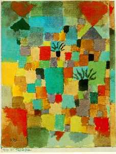 Paul Klee - Southern (Tunisian) Gardens