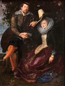 Peter Paul Rubens - Rubens and Isabella Brant..