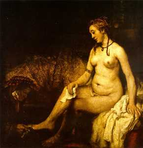 Rembrandt Van Rijn - Bathsheba with King David-s Letter