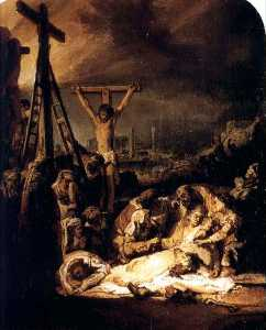 Rembrandt Van Rijn - La Deploration Du Christ, londres