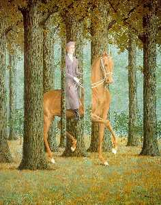Rene Magritte - The Blank Check