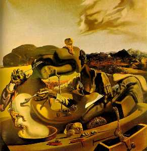 Salvador Dali - Autumn Cannibalism