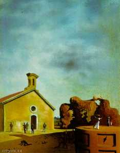Salvador Dali - Bread on the Head of the Prodigal Son