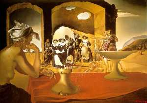 Salvador Dali - Slave Market with the Disappearing Bust of Voltaire
