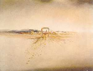 Salvador Dali - The Phantom Cart