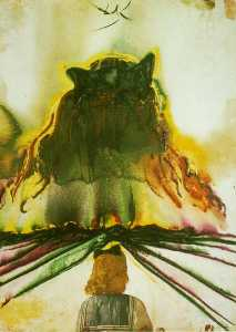 Salvador Dali - Gala-s Dream (Dream of Paradise), circa 1972