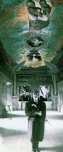 Salvador Dali - Ceiling of the -Palace of the Wind-, circa 1973