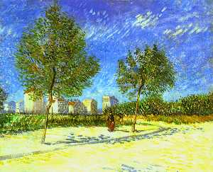 Vincent Van Gogh - On the Outskirts of Paris