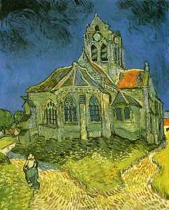 Vincent Van Gogh - Church at Auvers, The